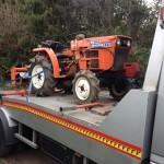 Autószállítás - traktor